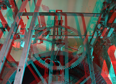 Carillion Laurenstoren Rotterdam 3D (wim hoppenbrouwers) Tags: 3d rotterdam anaglyph stereo carillion redcyan klokkenspel laurenstoren