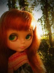 What a Beautiful Morning (Liz/Daifuku_Darling) Tags: bigeyes doll redhead plastic kenner blythe blythedoll 1972kennerblythe