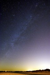 Milky Way Over Cape May, NJ (Somuchtwosay) Tags: longexposure nightphotography summer beach water night stars newjersey nikon nightscape space nj astro galaxy shore astrophotography capemay nightsky core deepspace galactic dx milkyway 7200 starscape 1024mm