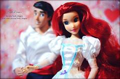 Love 11 (Lindi Dragon) Tags: ariel eric doll dolls princess prince disney mermaid disneystore disneyprincess