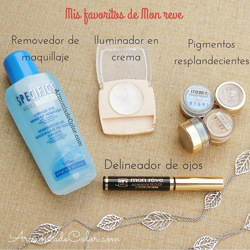 Favoritos maquillaje Mon Reve 3