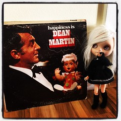 Keane is not sure what to think, but yeah... This happened! Dean loves dollies too!!!
