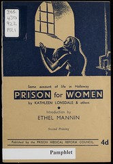 Prison for Women by Kathleen Lonsdale. 1943.