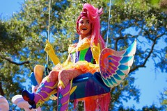 Pegasus Girl (jordanhall81) Tags: world horse girl festival flying circus character pegasus magic kingdom dancer disney swing parade resort fantasy wdw walt performer mk fof of