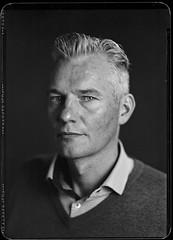 -Arndt- (Jürgen Hegner) Tags: portrait blackandwhite bw analog fuji xray shenhao schwarzweis 13x18 13x18cm xrayfilm jürgenhegner nikkorw240 shenhaofcl57a