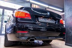 BMW 520 d Aut - 177c.v - Negro Zafiro - Piel Dakota Beige