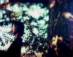 inception (TommyOshima) Tags: portrait film girl polaroid 4x5 tilt graflex 2007 type59 speedgraphics polaroidfilm graflexspeedgraphics zeisstessar165mmf27