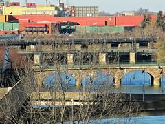 Genesee bridges (DannyAbe) Tags: bridges rochester geneseeriver geneseebrewery