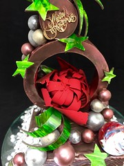 Merry Christmas 2015 (Zuckerschlosser) Tags: christmas japan fun chocolate chef pastry schokolade meister patissier chocolatier showpiece zuckerschlosser