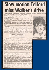 TELFORD UNITED 1 NORTHWICH VICTORIA 1 [BLT1] 1983-84 (bullfield) Tags: telford united northwich victoria cheshire shropshire wellington drill field football