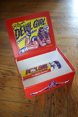 Devil Girl Choco-Bar Box Open (Donald Deveau) Tags: robertcrumb devilgirl