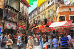 Biggest Souk -Istanbul (cattan2011) Tags: street travel buildings turkey landscape photography locals istanbul shops grandbazaar streetphotograpjy