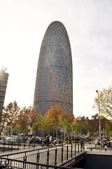 TORRE GLÒRIES (abans TORRE AGBAR) (Yeagov_Cat) Tags: 2015 barcelona catalunya avingudadiagonal torreagbar torre agbar b720arquitectos b720 jeannouvel 2005 b270 diagonal torreglòries glòries