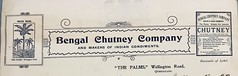 Letterhead for Bengal Chutney Company, Wellington Road, Wellington Point, Qld - circa 1909 (Aussie~mobs) Tags: thepalms wellingtonpoint queensland australia bengalchutneycompany letterhead