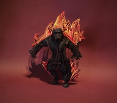 Origami Balrog (edg82) Tags: lordoftherings durinsbane paper origami flames flame fire shadow monster morgoth gothmog