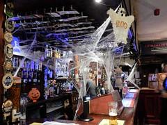 Pub Hallowe'en (deltrems) Tags: pub bar inn tavern hotel hostelry restaurant house spooky cobwebs ghost halloween all hallows blackpool lancashire fylde coast pumpandtruncheon pump truncheon clips