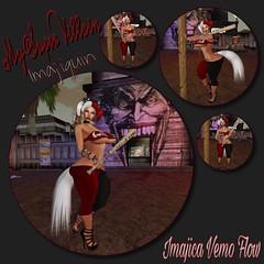 My Super Villain Imajiquin (Boricua Flow) Tags: secondlife neko avatar avi sexy busty vamplove