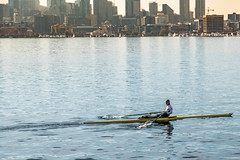 Rower and his shell (Tony Hoffman) Tags: gasworkspark places seattle testing xt2