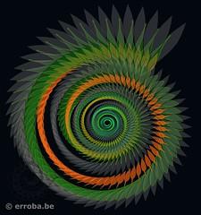 Spiral flower (Erroba) Tags: spiral organic math erlend robaye erroba belgium belgi belgique canon 5dmarkiii