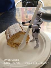 38 El pastis del Brac de Santa Tecla (Nightwing80) Tags: stormtrooper santatecla 2016 que la tecla tacompanyi starwars festa tarragona twitter