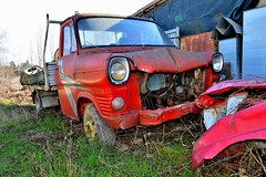 ford transit (riccardo nassisi) Tags: auto abbandonata abandoned rust rusty relitto rottame ruggine ruins rottami scrap scrapyard epave piacenza pc fiat officina decay urbex