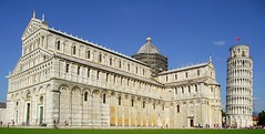 PISA DUOMO E TORRE PENDENTE (patrick555666751) Tags: pisaduomoetorrependente pisa duomo e torre pendente cathedral cathedrale tower tour penchee campo dei miracoli champ des miracles italie italia italy toscane toscana toscany europa europe flickr heart group