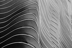 Radisson Blu Aqua Hotel Chicago (part 5) (jbarry5) Tags: radissonbluaquahotelchicago radissonbluaqua aquahotelchicago aquachicago abstract geometry monochrome blackandwhite chicago chicagoarchitecture