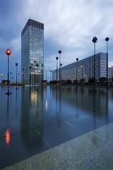 Tempte Initiale (PLF Photographie) Tags: dfense architecture pose longue long exposure urbanisme urban tempest tempte