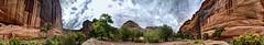 While House Ruin at Canyon De Chelley (JoelDeluxe) Tags: canyondechelley chelley tsyui navajonation nationalmonument canyon muertos cottowoods redrocks sandbed wash ruins az arizona hdr joeldeluxe