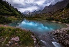 lake (rockwill3gm) Tags: montblanc travel landscape clouds color nikon