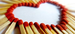 Heart Of Sticks (Abhiram_Rajilan) Tags: matchstick photography pointshoot household heart love valentine abhiramrajilan