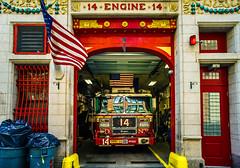 Engine 14 (Arutemu) Tags: nyc ny newyork newyorkcity manhattan america american urban usa us unitedstates metropolitan mirrorless sony sonya7r a7r ilcea7r ilce 24mm wideangle street city ciudad color colors