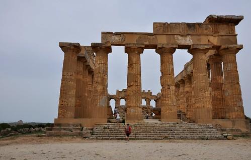 a1u. Selinunte (Sicilia-Italia). Templo E o de Hera