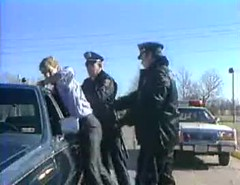 arrested man taken into jail (sirspankmesir) Tags: arrested handcuffed police jail businessman