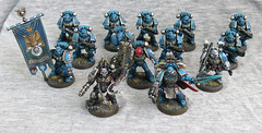 2nd Company (oxazejam) Tags: gamesworkshop ultramarines warhammer40000 40k spacemarines tactical squad