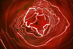 RED WAVES (Travis Pictures) Tags: lights light cameratoss colour nikon d5200 photoshop abstract abstraction magic art
