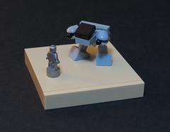 Smaller Still (Grantmasters) Tags: micro ed209 robocop lego robocoptober