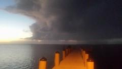 20161018_192137 (rolyrol1982) Tags: storm shadow florida keys key largo bay dark bad weather pier dock