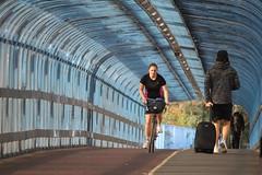 Carter Bridge (alasdair massie) Tags: cycling bicycle cambridge bridge bike path