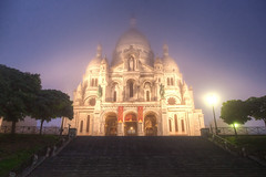 Sacr coeur (Baptiste Jsu) Tags: 5d 2016 sacr coeur montmartre paris street sacred art church eglise aube matin dawn architecture