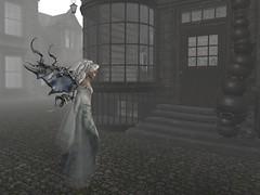 I left the bright, autumn-y park, and a fog fell over the village. (gwen.enchanted) Tags: maitreya catwa 7deadlys{k}ins hairology mesange silvanmoondesigns analogdog junbug mandala swallow ropedpassions miamai deathrowdesigns