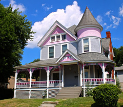 Pink Confection (Cam Miller 2016) Tags: victorianhome apollopa armstrongcounty westernpennsylvania gingerbreadhouse memories