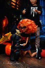 Helga & Dan (sonya.kosilina) Tags: ooak monster high howleen wolf ever after hanter huntsman
