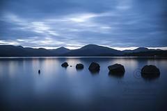 Sublime Tranquility - Blue Silence - Loch Lomond - Scotland (Magdalen Green Photography) Tags: sublimetranquility bluesilence lochlomond scotland mountains longexposure pretty blue calm zen scottishlandscape magdalengreenphotography 2767 balance peace