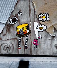 HH-Wheatpaste 3121 (cmdpirx) Tags: hamburg germany reclaim your city urban street art streetart artist kuenstler graffiti aerosol spray can paint piece painting drawing colour color farbe spraydose dose marker stift kreide chalk stencil schablone wall wand nikon d7100 paper pappe paste up pastup pastie wheatepaste wheatpaste pasted glue kleister kleber cement cutout