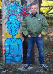self3106 (Tommy Berlin) Tags: men jeans levis bomberjacke alphajacke