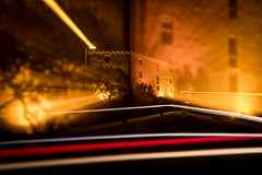 Fokuszieher (Ralph Punkenhofer) Tags: outdoor abendshotting autumn herbst mauthausen nighr night focus long exposure orange red ligr light licht nacht upper austria mhlviertel