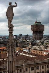 Milan. La Torre Velasca. (leonhucorne) Tags: milan italie torre velasca architecture flickrtravelaward