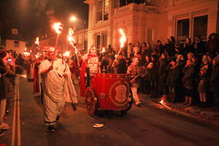 IMG_7045 (baskill) Tags: lewes bonfire night flames parade sussex fireworks bangers red ancient greek chariot