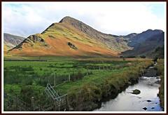 HFF......Fleetwith-pike. (stu.bloggs..Dont do Sundays) Tags: fleetwithpike stream fence fenceline happyfencefriday autumn colours light tones